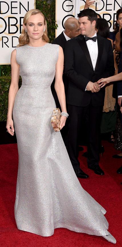 diane-kruger 2015 Golden Globes Red Carpet